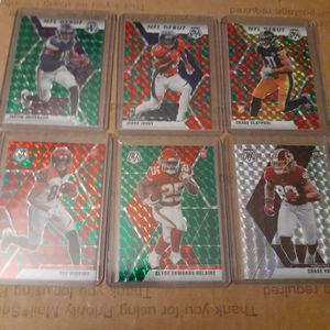 2020 Panini mosaic Rookie Lot Of 6 Cards in Mint Condition Pu Only Fort Worth for Sale in Fort Worth, TX