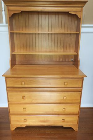 EXCELLENT Wood Dresser and Hutch! for Sale in Midlothian, VA