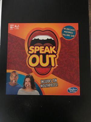 Speak Out Board Game for Sale in Phoenix, AZ