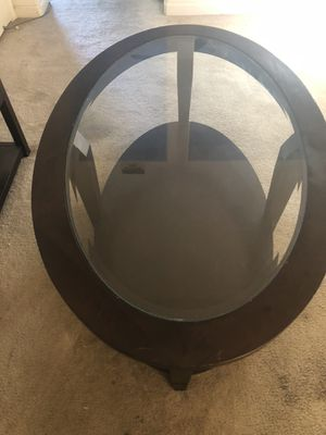 Oval coffee table for Sale in San Leandro, CA