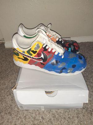 Custom bape kicks. Men 9.5 for Sale in Houston, TX