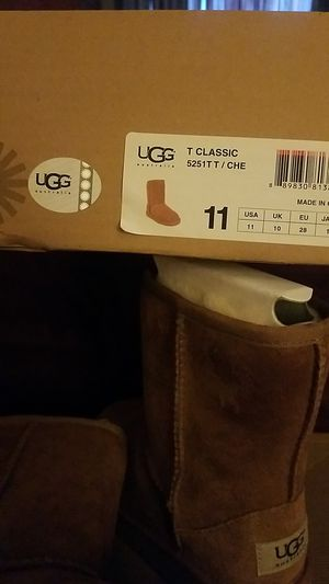 Ugg Boots, girls 11c for Sale in Windsor, CT