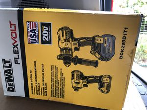 Dewalt 60v hammer drill and impact drill set for Sale in Peabody, MA