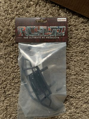 RC4WD Metal Marlin Crawler front winch bumper and Marlin Crawler metal rear bumper for Sale in Arlington, WA