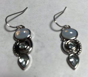 Moonstone Silver Earrings for Sale in Longwood, FL
