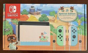 Nintendo Switch Animal Crossing Edition for Sale in Buxton, ND