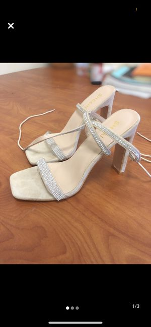 Rhinestone heels-size 7 for Sale in Odessa, TX
