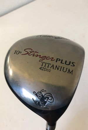 Stinger plus 10 deg driver titanium golf club for Sale in Fresno, CA