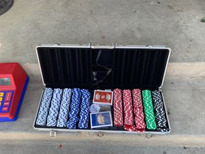 Poker set for Sale in San Diego, CA