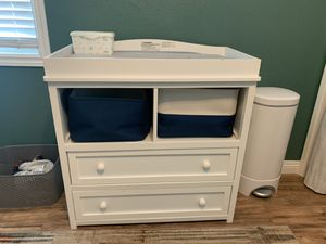 Changing table with pad for Sale in La Habra, CA
