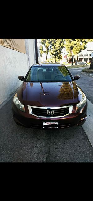 ELEGANTE HONDA ACCORD 2008..BLUETOOTH..SALVAGED TITLE..13OKMILES..CAMERA TOUCHSCREEN..ECONOMICO EN GAS..EXCELLENT CONDITION..!! for Sale in Lynwood, CA