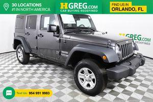 2018 Jeep Wrangler JK Unlimited for Sale in Orlando, FL