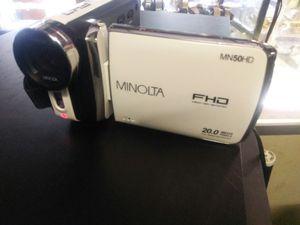 Minolta digital camcorder for Sale in Savannah, GA