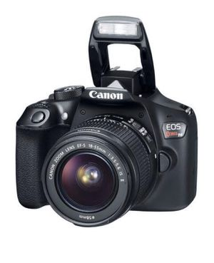 CANON REBEL T6 WITH 2 LENSES for Sale in Las Vegas, NV