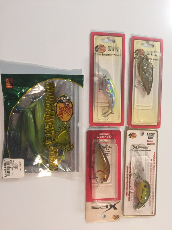 New fishing lures and plastic frogs #2 package