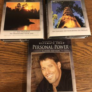 Tony Robbins CD's and Work Books for Sale in Sterling, VA