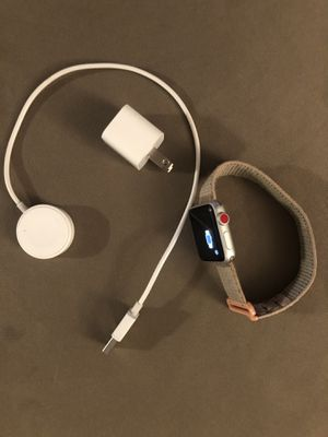 Apple Watch series 3 gps and cellular for Sale in Malden, MA