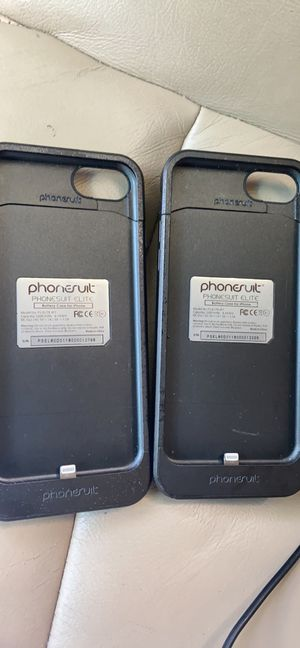 Two iPhone 7 charger cases. for Sale in Longview, TX
