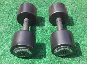 60lbs NordicTrack Dumbell Weights 2x30lbs for Sale in Hollywood, FL