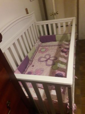 Baby crib/toddler bed 2in1 for Sale in GLMN HOT SPGS, CA