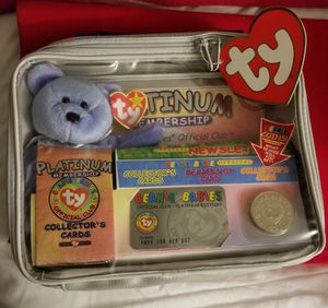 Collectable, 1999 Rare, Beanie Babies Platinum Members Only for Sale in Tacoma, WA