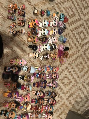 Large lot of girls Lol surprise dolls, pets, little sisters for Sale in Cherry Hill, NJ
