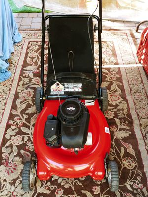 MTD lawn mower with 158cc Briggs and Stratton engine start right away has a good bag no issues it's a Yard Machine check out my offers for Sale in Tempe, AZ
