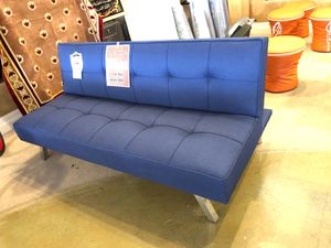 Blue futon on sale for Sale in Phoenix, AZ