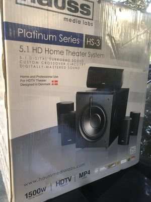 Home theater system for Sale in San Jose, CA