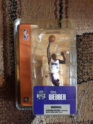 Vintage basketball action figures Chris webber for Sale in Fort Washington, MD