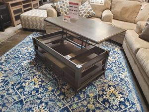 Coffee Table, Dark Gray for Sale in Huntington Beach, CA
