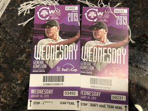 WEDNESDAY WASTE MANAGEMENT GA PASSES for Sale in Tempe, AZ