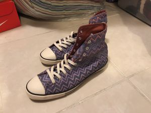 Converse sparkling glitter purple for Sale in Key Biscayne, FL