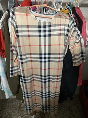 BURBERRY DRESS for Sale in DeSoto, TX