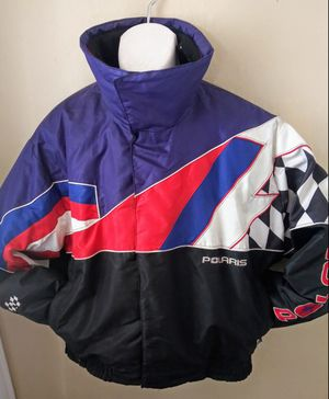 L* VTG* Polaris Indy snowmobile jacket for Sale in Spokane, WA