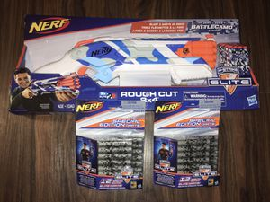 Nerf Rough Cut 2x4 [Brand New] with 24darts for Sale in Los Angeles, CA