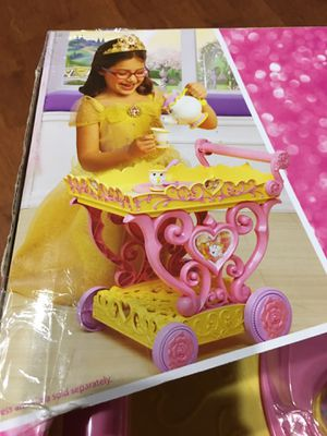 Disney Princess Belle Musical Tea Party Cart for Sale in Oakton, VA