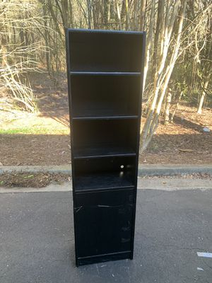 TALL BLACK SHELF for Sale in Snellville, GA
