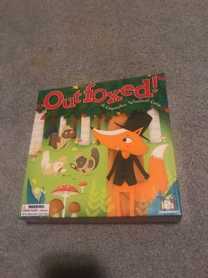 Outfoxed board game for Sale in Graham, WA