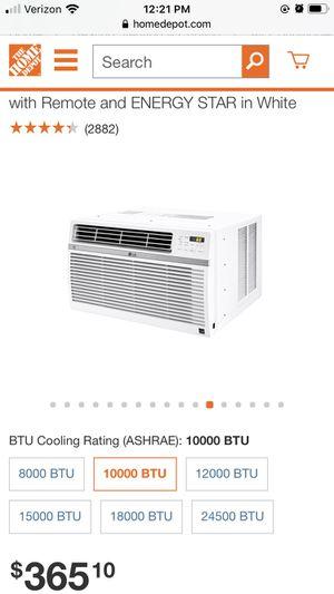 AC Window Unit LG 10000 BTU for Sale in Penn Valley, PA