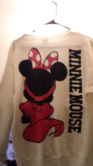 WALT DISNEY (TAG)*MINNIE MOUSE SWEAT SHIRT, MOST VALUED CHARACTER IN WALT DISNEY COLLECTIONS TODAY. . , EXCELENT SHAPE., ,MINNIE MOUSE# 1 for Sale in Phoenix, AZ