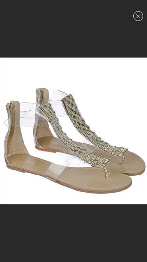 Bamboo Aveno Jeweled Sandals (Gold Color) - NIB for Sale in Lompoc, CA