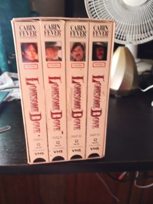 4 series lonesome dove vhs for Sale in Lake Wales, FL