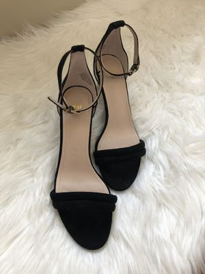 Black Suede Low Heels for Sale in Worcester, MA