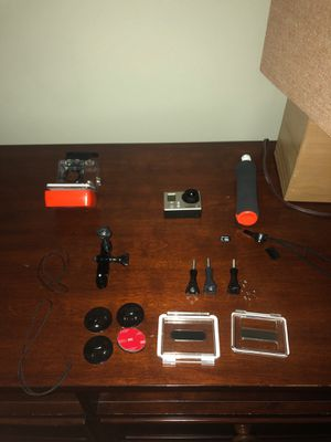 GoPro Hero 3+ with accessories for Sale in Bethesda, MD