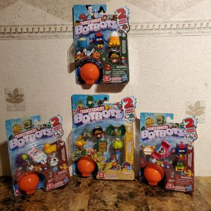 Transformers Toys BotBots Mini Robot Sets Series 3 Lot Of 4 for Sale in Hazelwood, MO