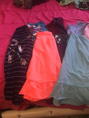 Girls size 14 long sleeved shirts-8 shirts for Sale in West Richland, WA