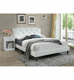 Full queen size bed with mattress best deal pick a color for Sale in Staten Island, NY