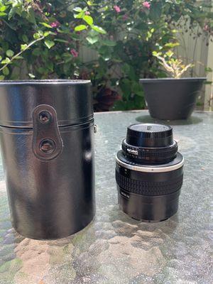 Nikon nikkor 105mm 1.8f manual lens for Sale in Miami, FL