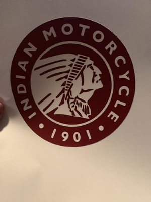 Indian motorcycle decal sticker for Sale in Santa Ana, CA